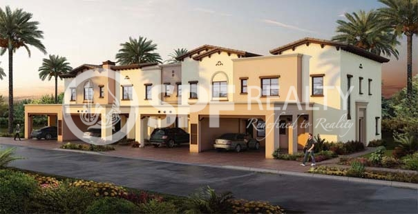Type 1E Townhouse Single Row in Mira 1 at Reem - Image 9