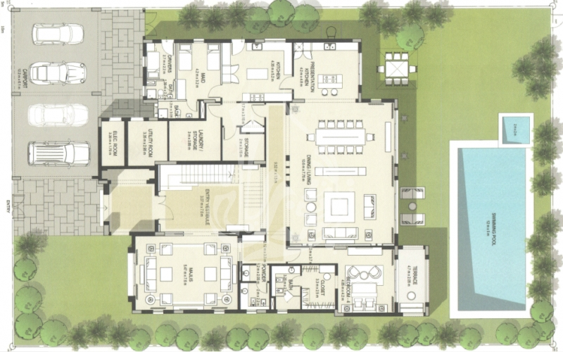 Modern Arabic Style Villa in District One MBR City - Image 2