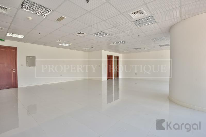Bright and Fitted Offices space with Lake View for rent