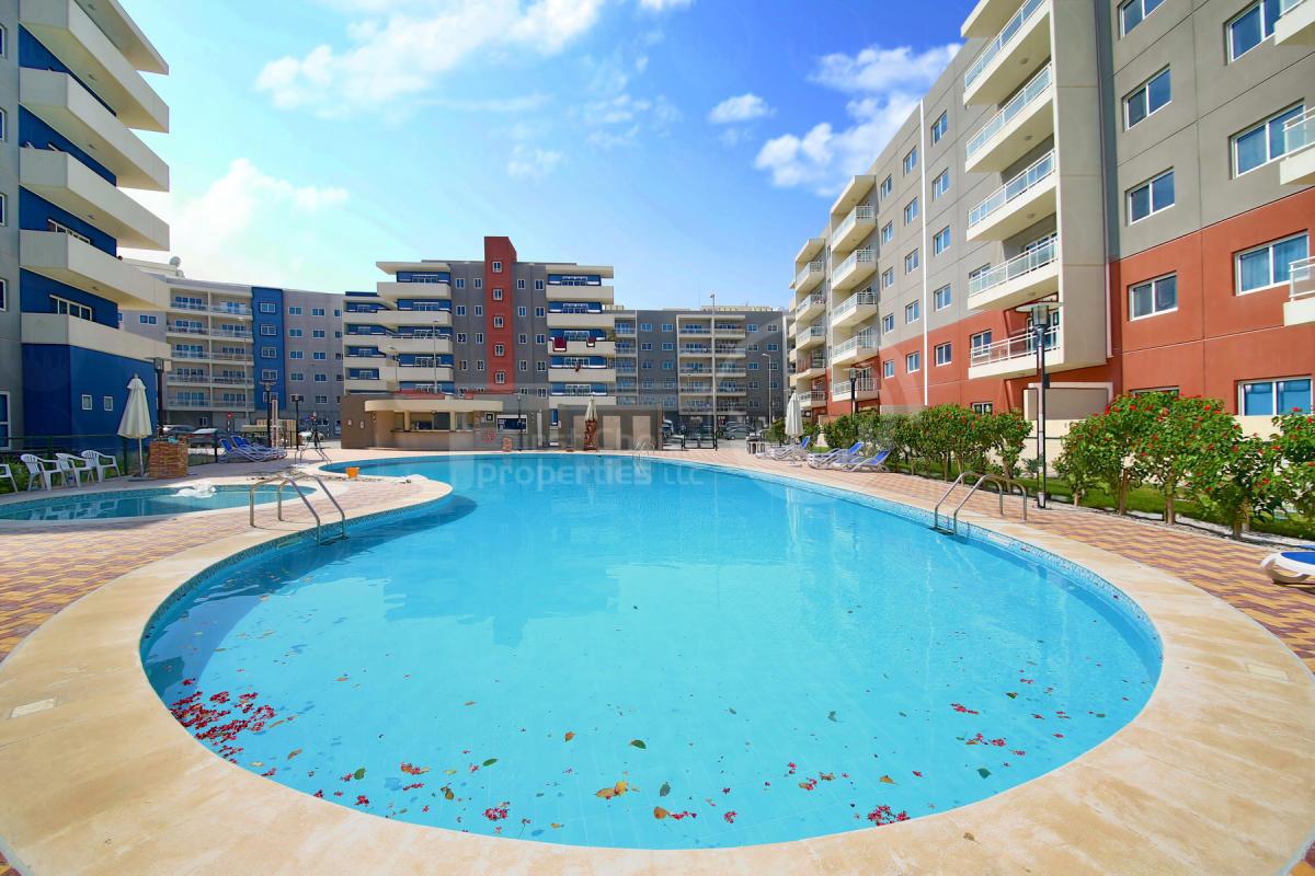 Studio - 1BR - 2BR - 3BR Apartment - Abu Dhabi - UAE - Al Reef Downtown - Outside View (19).JPG