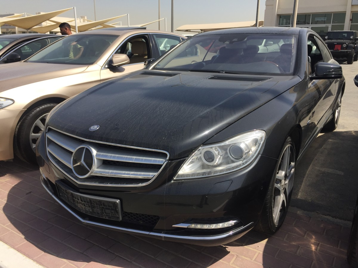 mercedes benz cl 500 blk gcc for sale kargal uae. Black Bedroom Furniture Sets. Home Design Ideas