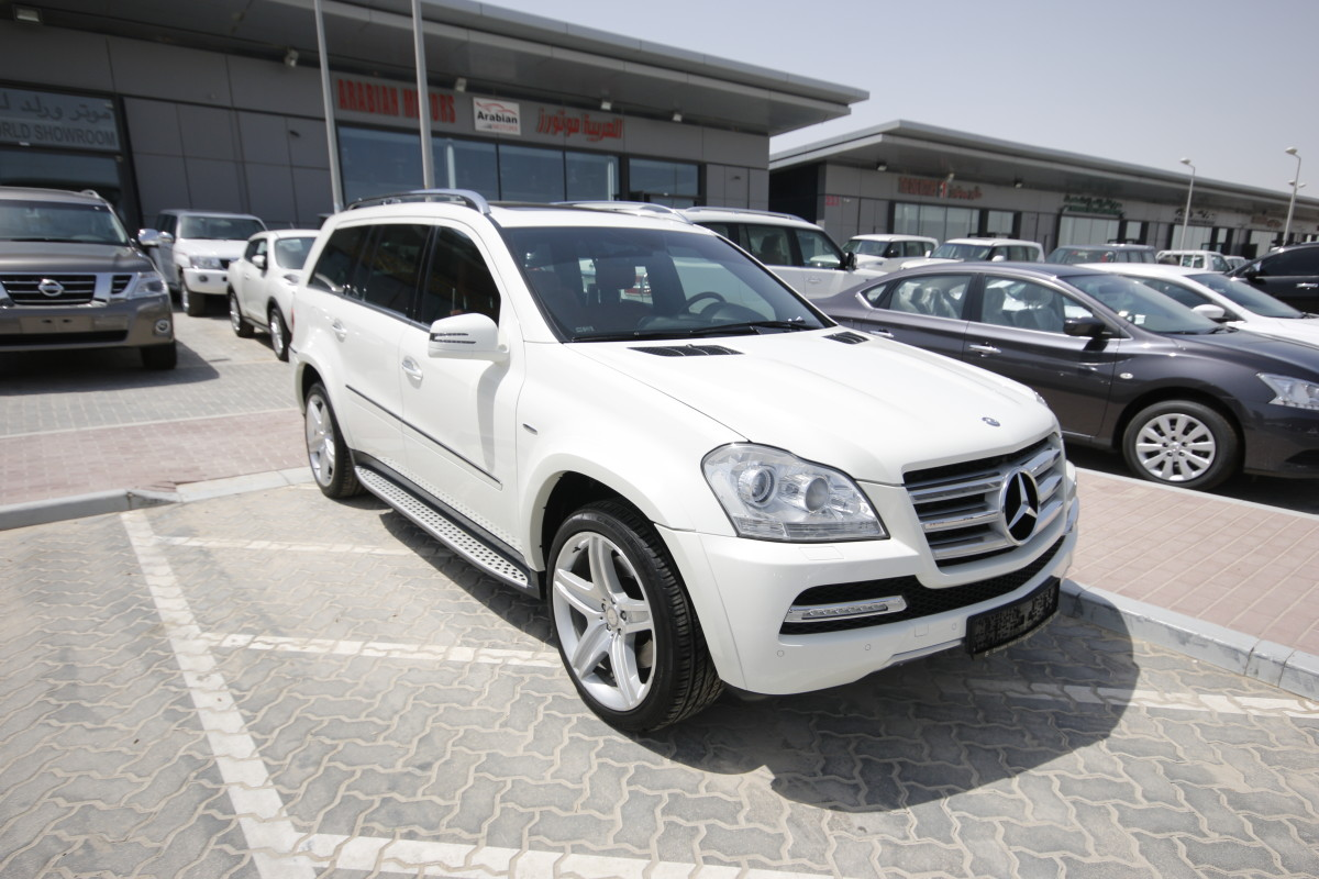 Mercedes benz gl 500 white 2012 for sale kargal for White mercedes benz for sale
