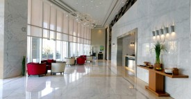 Furnished 2 bedroom in Damac Vogue with Community View