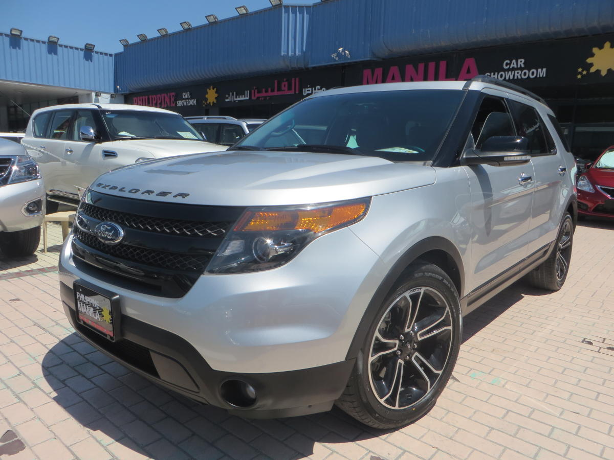 ford explorer 2014 silver gcc spec 4wd price 109500 kargal uae. Black Bedroom Furniture Sets. Home Design Ideas