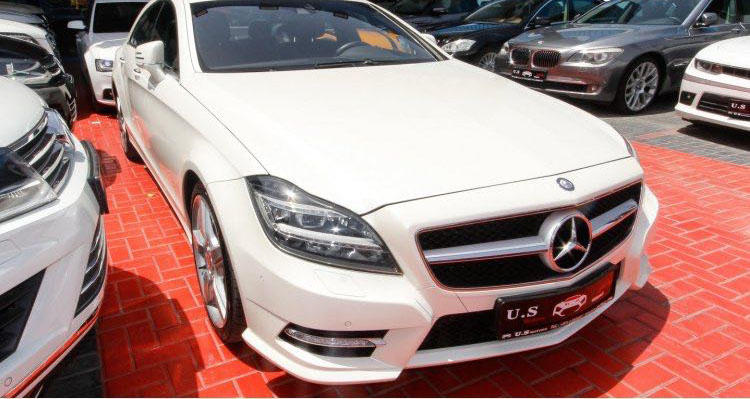 Mercedes benz cls 500 amg 2013 gcc spec price 128000 for Mercedes benz cls 500 amg