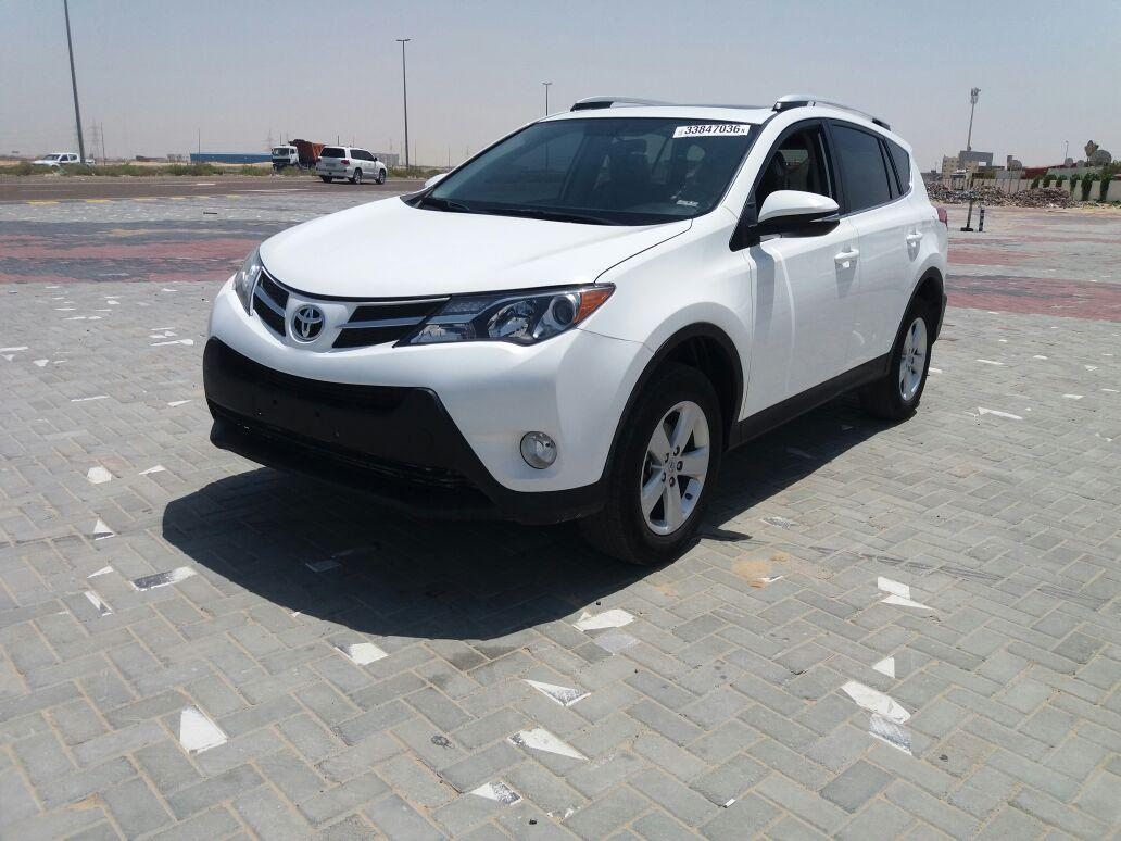 toyota rav4 2014 usa spec white color price 52000 aed. Black Bedroom Furniture Sets. Home Design Ideas