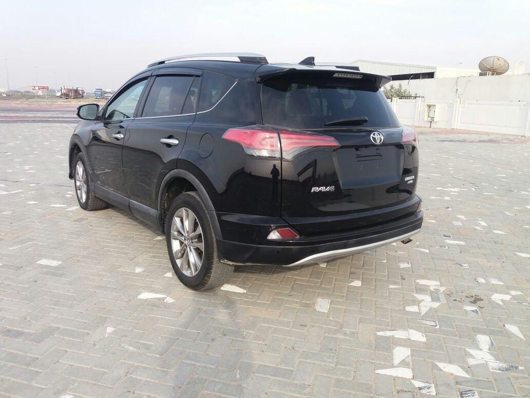 toyota rav4 2016 limited edition usa spec black color kargal uae. Black Bedroom Furniture Sets. Home Design Ideas