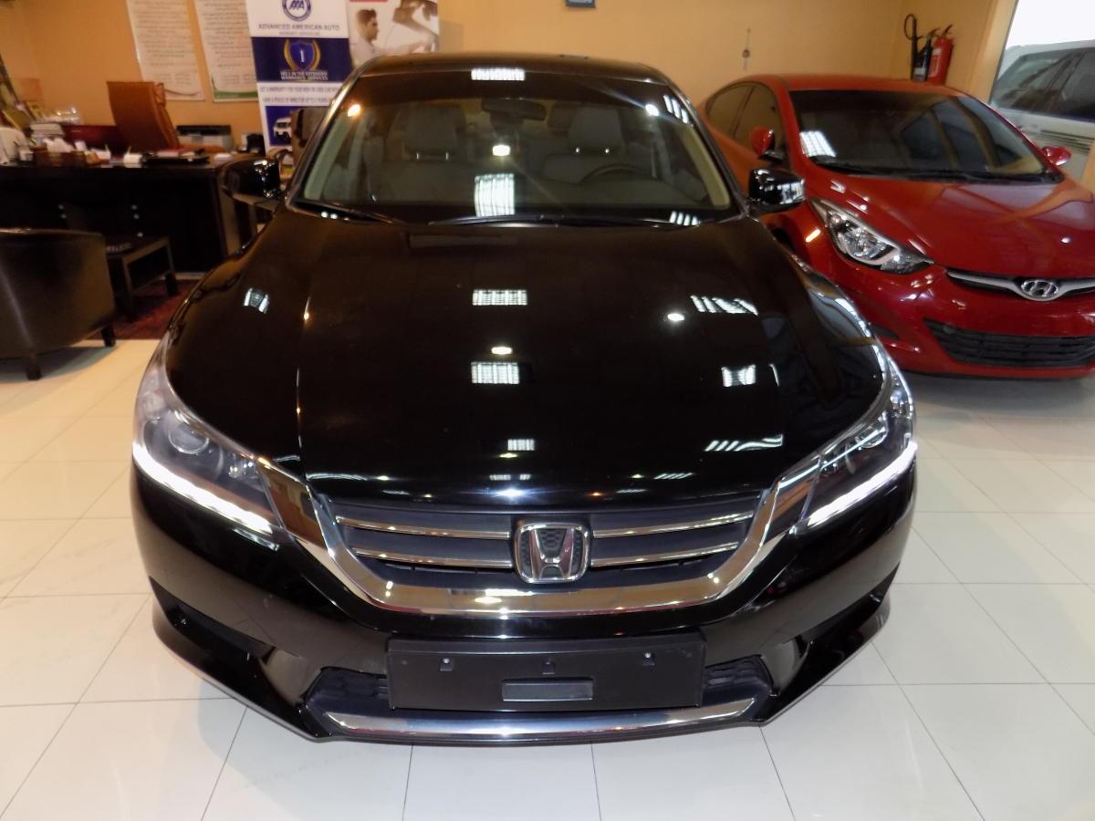 Honda accord 2014 black gcc spec kargal uae for 2014 honda accord black