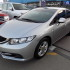 HONDA CIVIC 2013 SILVER GCC
