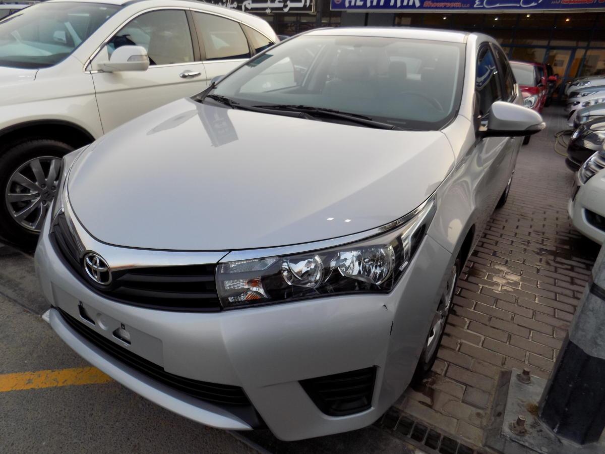 Corolla 2014 In Dubai Autos Post