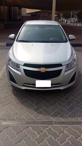 CHEVROLET CRUZE 2015 AED 665/M ('NO DOWN PAYMENT' APPROVAL OF 100% FINANCE!
