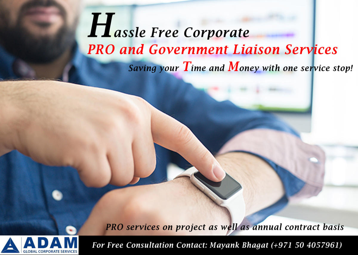 Corporate Services Provider in UAE – Hassel free