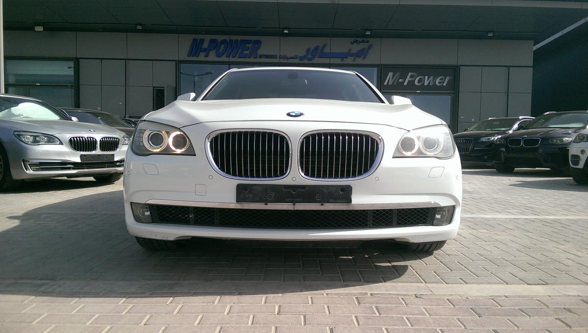 BMW 750 LI 2010 GCC specification