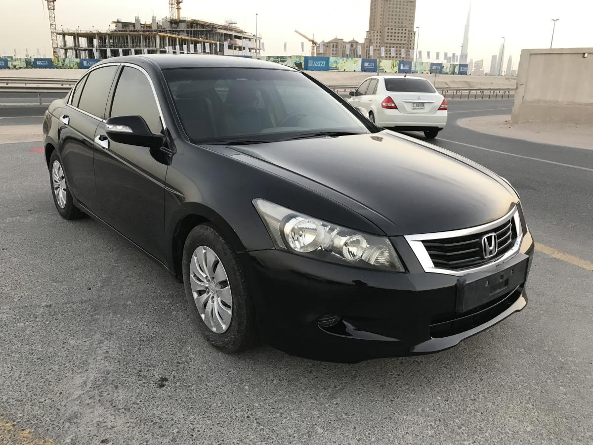HONDA ACCORD 2009 BLACK FULL AUTO CONDITION ACCIDENT FREE FOR SALE