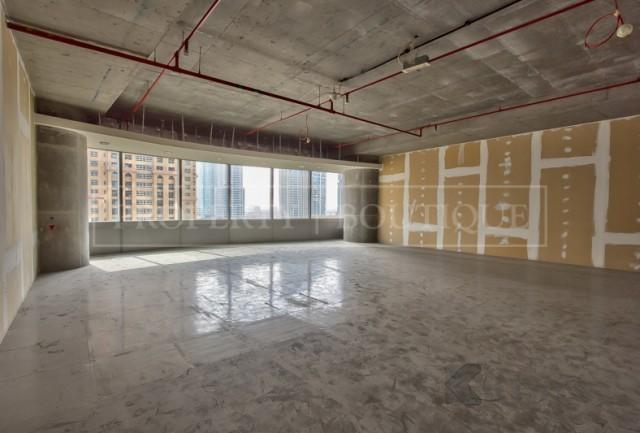 Shell and Core Office in Silver Tower, JLT - Image 1