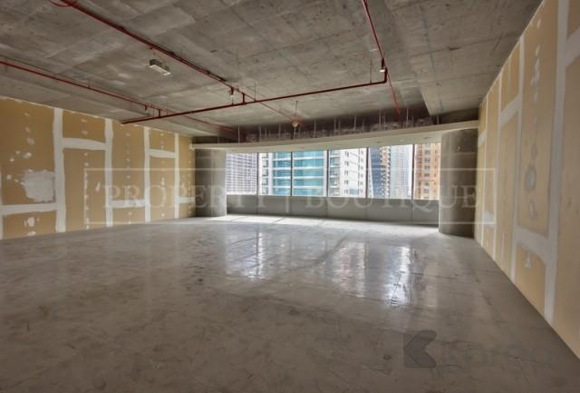 Shell and Core Office in Silver Tower, JLT - Image 3