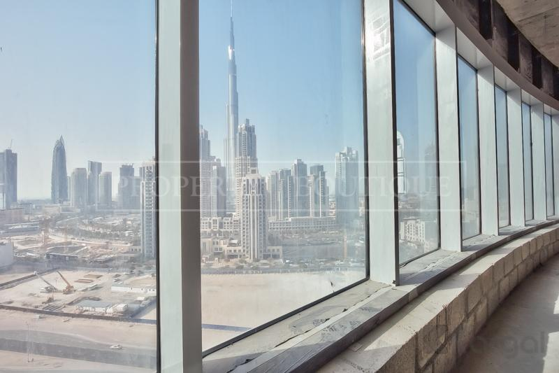 Shell and Core Office with Views of Burj Khalifa - Image 6