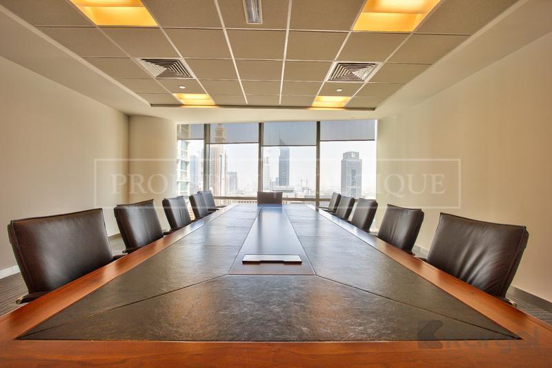 Impressive fully furnished Half Floor Office, DIFC - Image 3