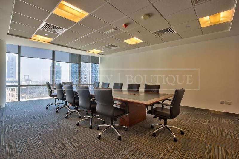 Impressive fully furnished Half Floor Office, DIFC - Image 4