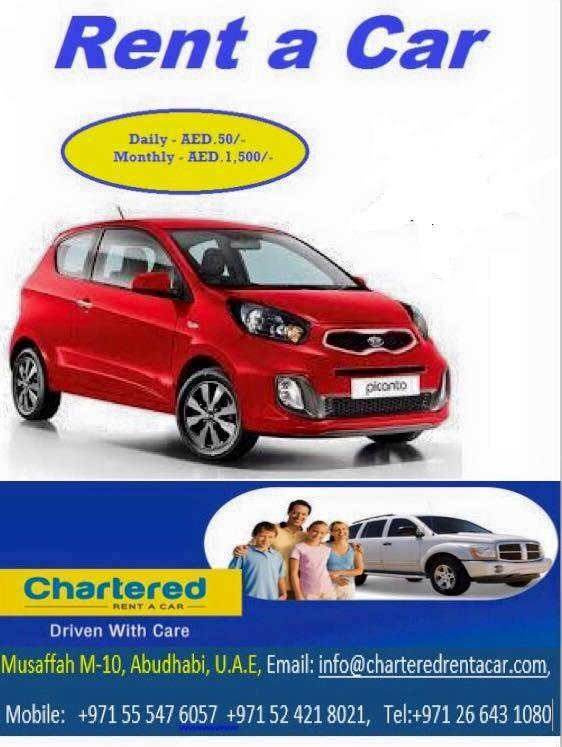 Chartered Rent a Car