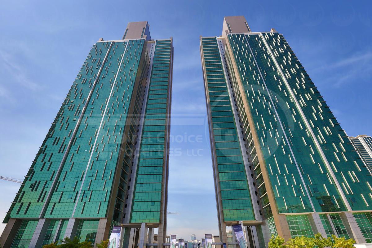 Studio - 1BR - 2BR - 3BR - 4BR Apartment - Abu Dhabi - UAE - Al Reem Island - Al Durrah Tower - Outside View (1).JPG