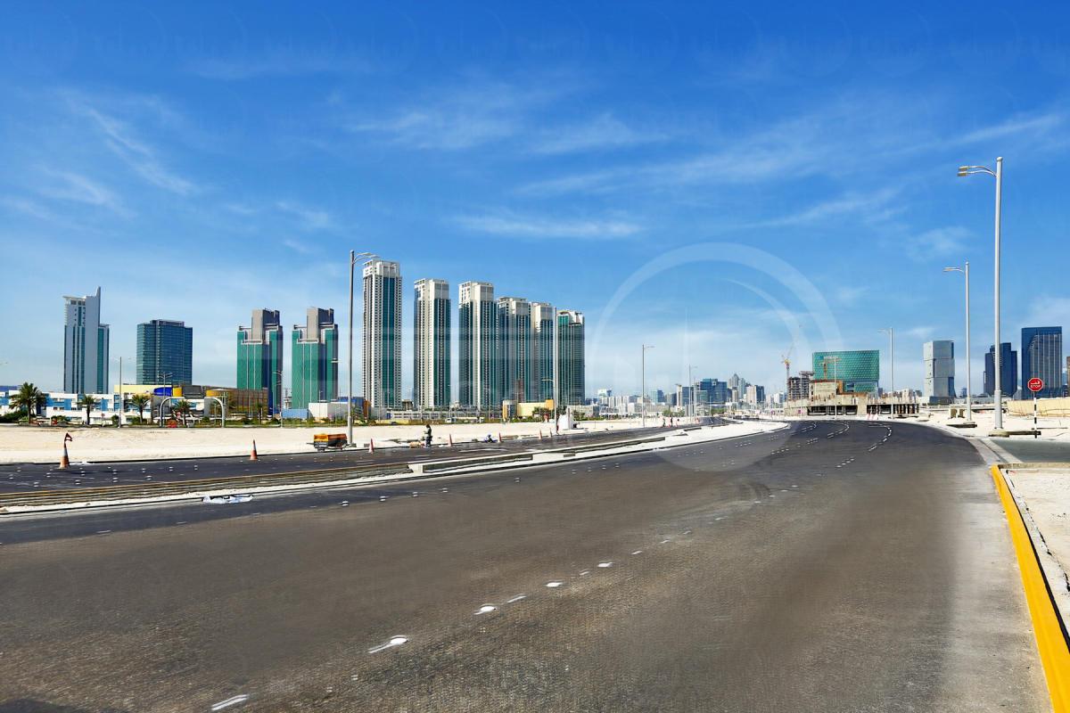 Studio - 1BR - 2BR - 3BR - 4BR Apartment - Abu Dhabi - UAE - Al Reem Island - Marina Square - Outside View (72).JPG