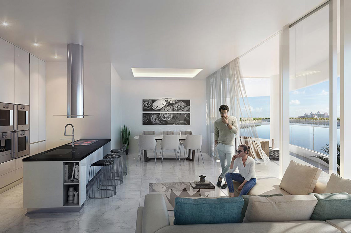 2 Bedroom Serviced Apartment at Palm Jumeirah - Image 5