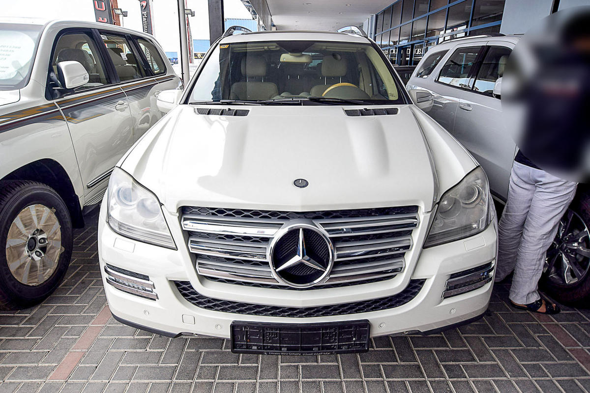 Mercedes Benz GL500 001