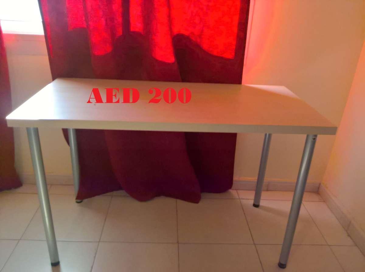 B-Table with 4 metal legs (Light Brown).jpg