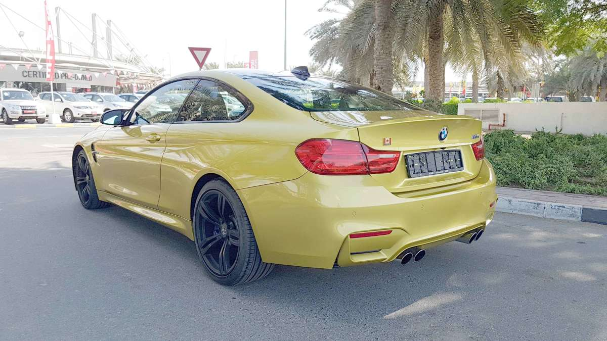 BMW M4 Coupe  – 2015  Model