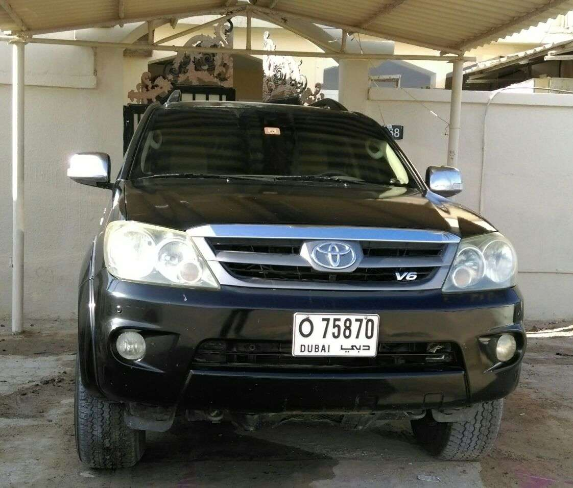 Toyota Fortuner – 2008 very good condition