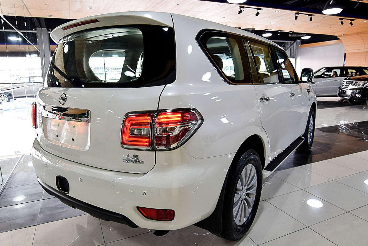 Nissan Patrol Titanium 2017 White With Warranty