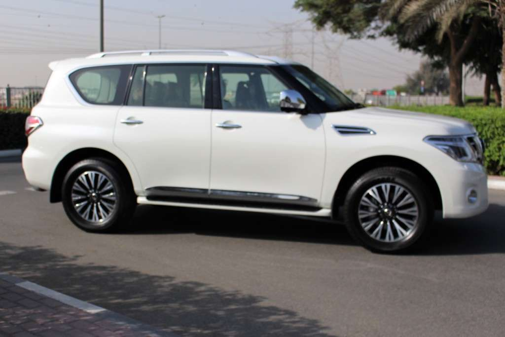 Nissan Patrol SE 2017 White Inside Tan With Warranty