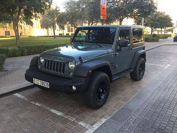 Jeep SPORT RENEGATE II 2014