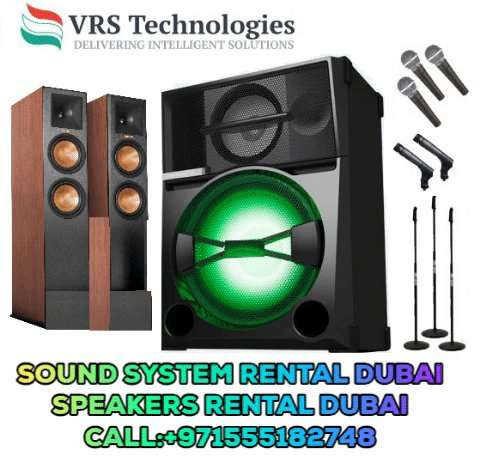Sound System Rental Dubai | Sound System for Rent in Dubai