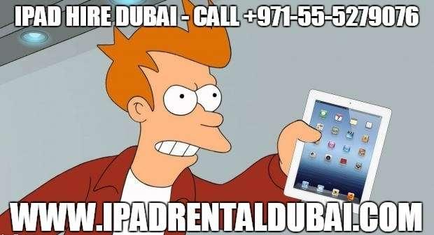 iPad Hire for Trade Shows in Dubai – Call +971-55-5279076