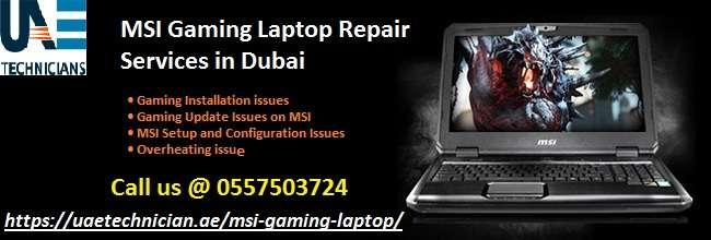 MSI gamimg laptop repair services in Dubai.jpg