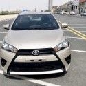 2015 TOYOTA YARIS GCC H/B FOR SALE 100 % BANK LOAN  PLEASE CALL 0557622171