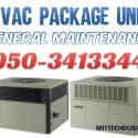 HVAC Package Unit Air Conditioning System Service Repair in Dubai