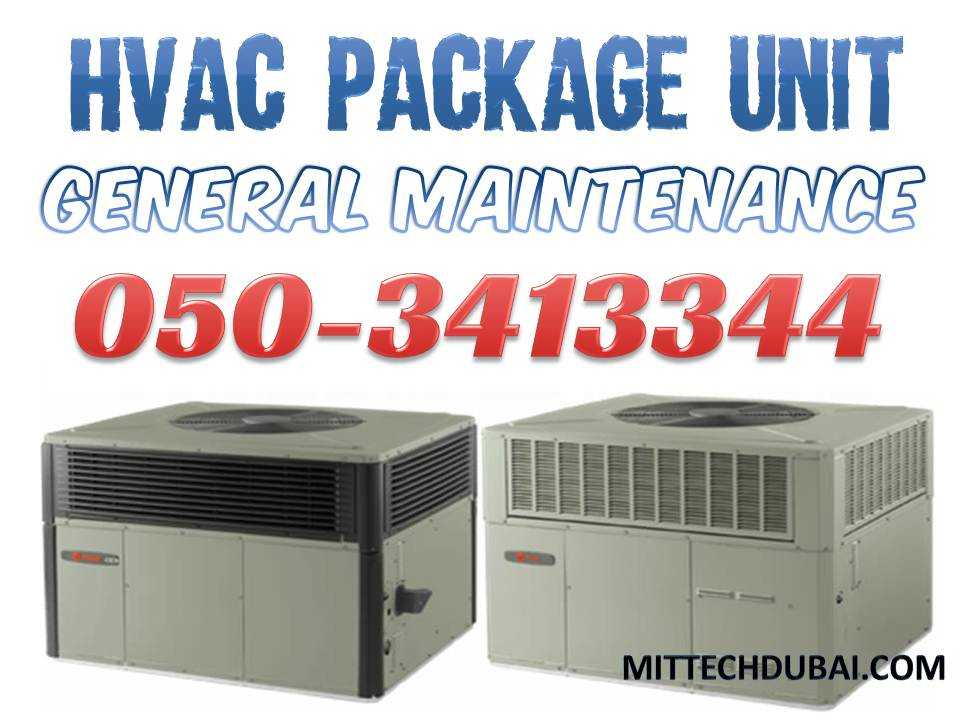 HVAC Package Unit Service Repair Maintenance in Dubai Abu Dhabi Ajman Sharjah All in UAE.jpg