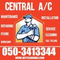 Central Air Conditioning Service Repair and Filter Cleaing 0503413344