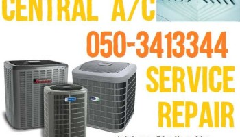 central air conditioning ac system service repair maintenance in dubai 0503413344 muhammad ijaz technical works llc dubai.jpg