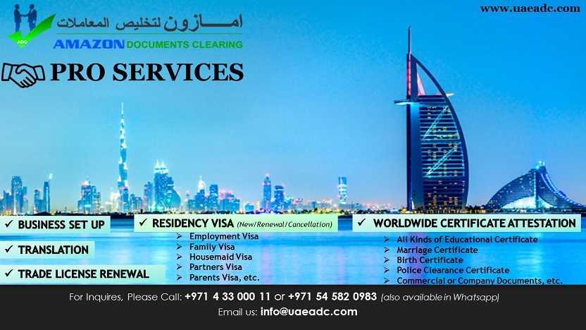 Dubai PRO Services – Kargal Classifieds - UAE