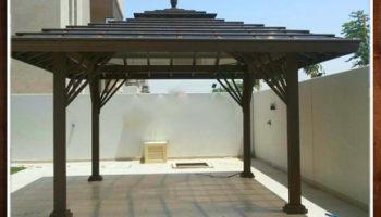 Abu Dhabi Garden Gazebo , Gazebo With Benches , Wooden Gazebo Abu Dhabi (1).jpg