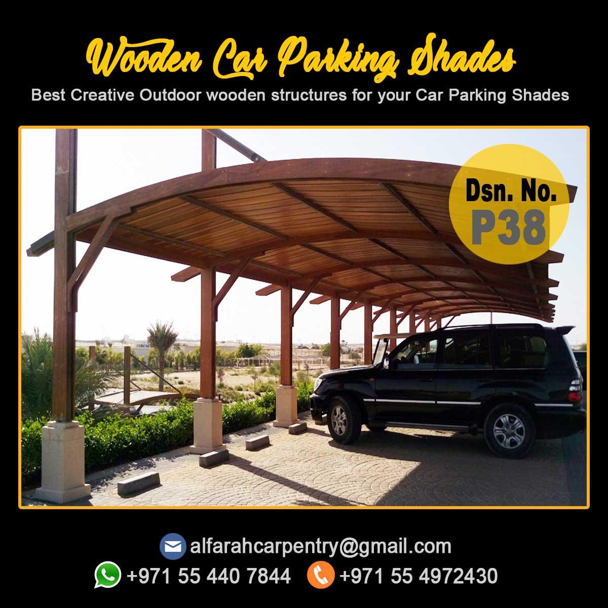 Car Parking Pergola Suppliers , Wooden car Parking , Car parking Wooden Shades Dubai5.jpg