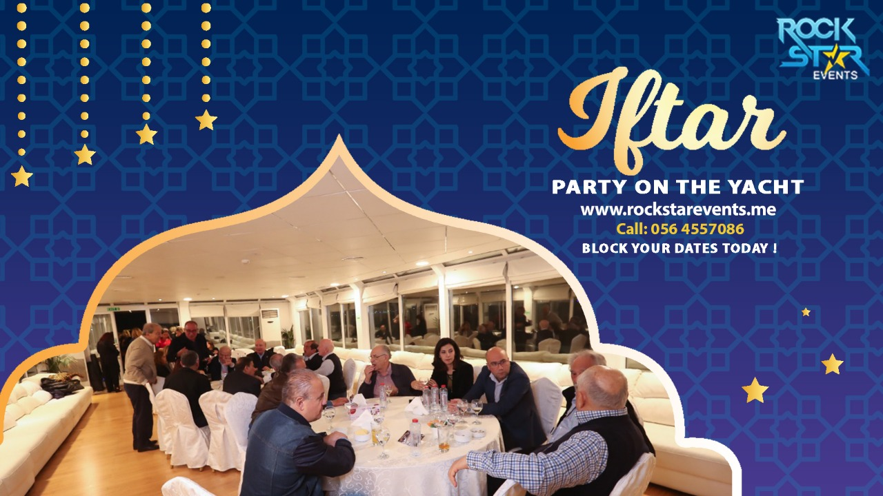 iftar party on house boat in dubai