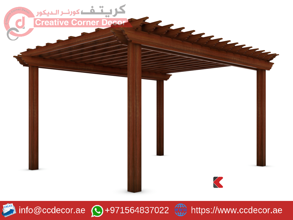 Wooden pergola on the white.png