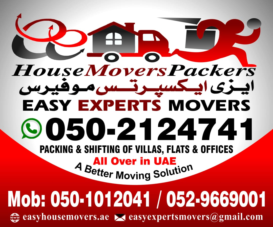 ABU DHABI HOUSE MOVERS 0509669001 EASY MOVING AND PACKING