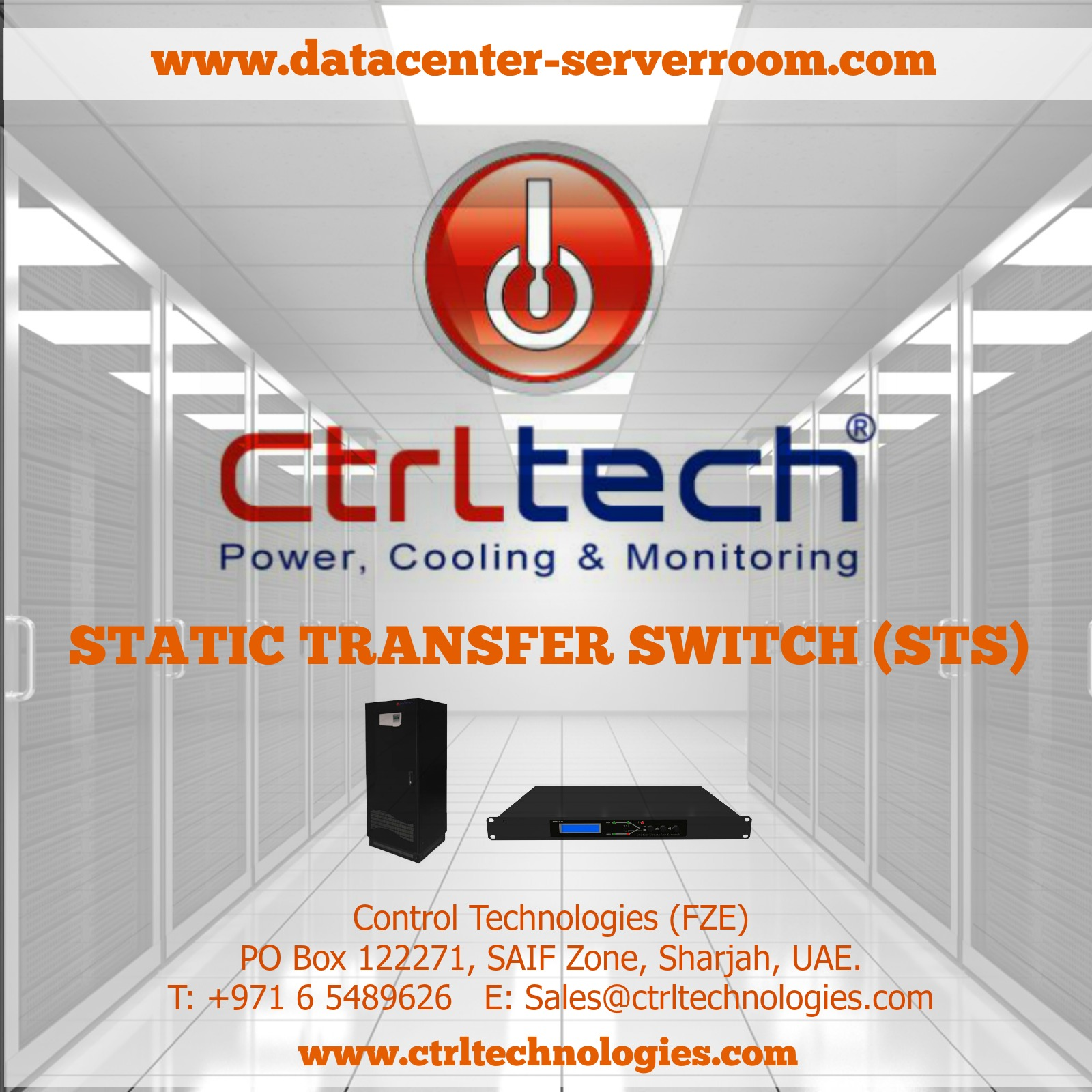 Static transfer switch STS for server room and Data center (datacenter).jpg