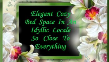 0 - Elegant Cozy Bed Space In An Idyllic Locale So Close To Everything.JPG